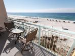 Enjoy the stunning views of the Emerald Coast from the private b