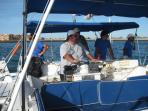 Daytime cruising on Sea of Cortez, available all day long.