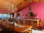 Dining room, ocean views seats 8