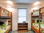 Two Twin Bunks in the Fifth Bedroom