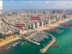The center of the city, 30 seconds walk to the beaches of Tel Aviv.