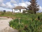 Cottage from beach 2012