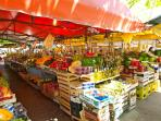 Local Market only 5 minutes walk