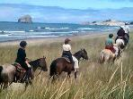 Horseback riding in Manzanita