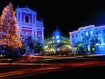 New Year time in Ljubljana