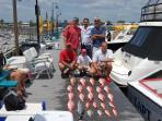 Charter a deep sea fishing trip with friends