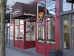 The best sandwich shop in Seattle--downstairs.