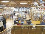 The interior of Elliott Bay Books, three blocks from us.  A great bookstore!