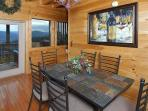 Pigeon Forge Luxury Cabin Dining Table