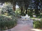 Villa Caprera. The Front Yard and Garden