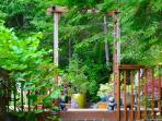 Entrance to the Meditation Garden