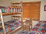 Second Bedroom with Bunk and Twin Beds