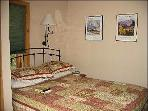 Queen Size Bed in the Master Suite