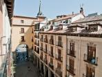 left view from balcony: Plaza Mayor