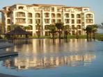 Ground Floor Beachfront Luxury Condo. Golf Resort.