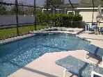 Bass Lake Estates-Spacious 4 Bedroom Home Pool & Spa, close to Disney