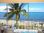 The View:  The Pool, The Palm, The Beach and The Ocean!  WOW!