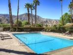 Newly Refinished Community Pool with Lounges, Tables, Hot Tub