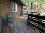 Deck and twin room sliding door