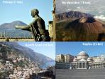 Pompei (1km), Sorrento (22 km),Naples(24 km), Amalfi Coast (40 min.), Capri (15 min.), Vesuvius .