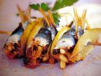 Sarde a beccafico - Sicilian recipe with sardines