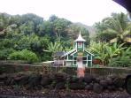 The church at Halawa Valley