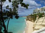 The Cliff Beach & Spa A7 at Cupecoy, Saint Maarten - Beachfront, Gated Community, Pool