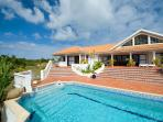 Frangi Pani at Terres Basses, Saint Maarten -  Pool, Tropical Gardens