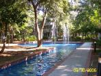 Lots of beautiful fountains make your walk to the pool or beach so pleasant