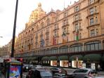 Harrods in Knightsbridge for shopping