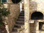 Villa Antares Pisak, fire place