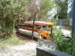 Canoes/Kayaks (free)