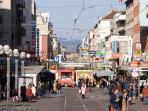 Shopping, Cafes, Pedestrian