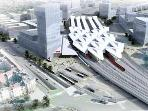 New Main Railway station is in full operation and in walking distance, also serves Vienna airport