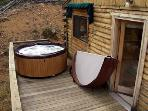 Hot Tub runs year round!