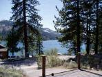 VIEW of DONNER LAKE AND MOUNTAINS