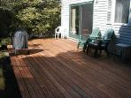 Comfortable deck for your outdoor dining