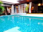4 Bedroom Bungalow with Great Private Pool South Facing Sun All day with Ample Sun Loungers