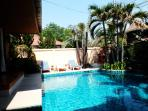 South Facing Pool with Sun loungers!! Sun all Day for those Sun Worshipers!