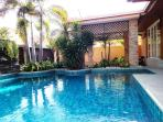 Great Private Pool with Waterfall Feature!