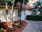 Garden Villa Entry