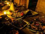Indonesian Nasi Tumpeng Banquet