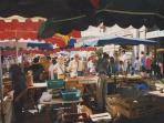The market at Cahors