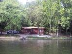 Come and enjoy lakefront cabin for romantic getaway or families, friends to getaway from it all!