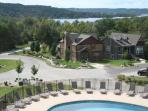 Pool and Lakeview from Clubhouse