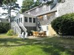 Wonderful Cape Style Brewster home with 3 bedrooms and 2.5 baths.