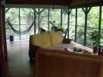 Living room - with a view to the jungle