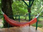 Hammocks on our porches