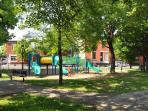 Playground/parc located at 1 min walk (perfect for families!)