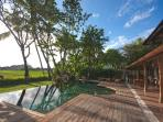 Villa Kipling - Swimming pool - Rice field view
